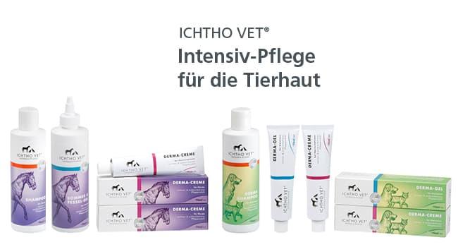 Die Intensiv-Pflege für die Tierhaut: ICHTHO VET