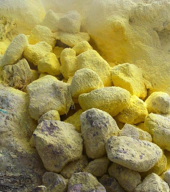 schwefel steine